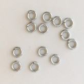 Anellini in acciaio  4 mm (80 pz)