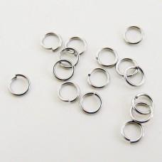 Anellini in acciaio  4,0 mm (100 pz)