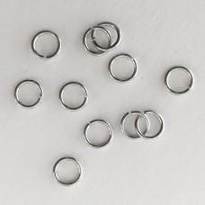 Anellini in acciaio  5 mm (70 pz)