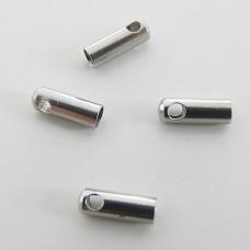 Capocorda da incollo 2,5 mm in acciaio (10 pz)
