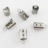 Capocorda da schiacciare in acciaio 4,5mm (18 pz)