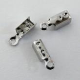 Capocorda da schiacciare in acciaio 3mm (30 pz)