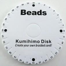 Kumihimo disco