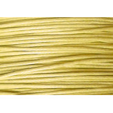 Cordone cerato 1,0 mm - 75m - GIALLO