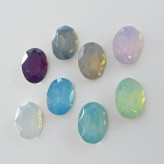 Cabochon Plexy Ovale 14x10 mm