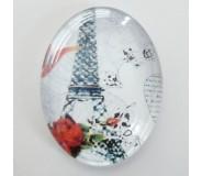 Cammeo Ovale 25x18 - Tour Eiffel