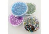 Perline c/foro argento