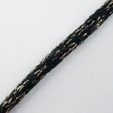 Tricotino in lana 5 mm [nero/rame]