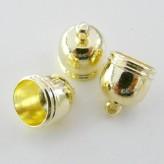 Calice a campana Ø9mm  [Oro - 4 pz.]