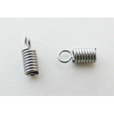 Capocorda a molla in acciaio Ø 2,0 mm (4 pz)