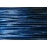 Cavetto d'acciaio Ø 0,45 - 10mt - Blu petrolio