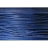 Cavetto d'acciaio Ø 0,45 - 10mt - Blu reale