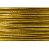 Cavetto d'acciaio Ø 0,45 - 10mt - Oro Rosso