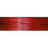 Cavetto d'acciaio Ø 0,45 - 10mt - Rosso*