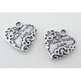 "Charm Cuore ""Made with Love"""