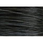 Cordone cerato 1,0mm - 75m - NERO