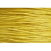 Cordone cerato Ø1mm - 5mt - GIALLO