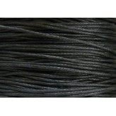 Cordone cerato Ø1mm - 5mt - NERO
