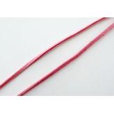 Fettuccia alcantara 3mm [Rosa corallo] - 1mt