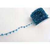 Filo con mezzicristalli 4 mm [Blue Zircon]