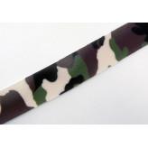 Nastro di Lycra 2cm [Camuflage Militare] - 10 mt