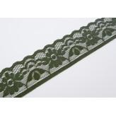 Pizzo elastico 3 cm [Verde]