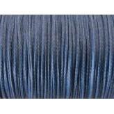 Poliestere s/cerato Ø0,8 mm - 5mt [Blu Mare]