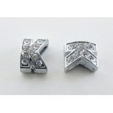 Sep. metallico lettera K (foro largo)