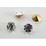 Strass cabochon da incollo SS13 Crystal [100 pz]