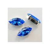 Swarovski Navetta 15x7 - Sapphire